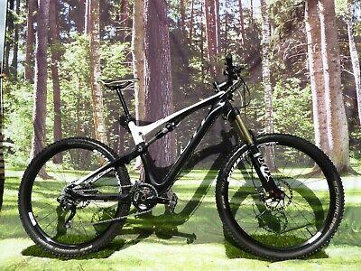 "2015 Scott Genius 720 CARBON Mountain Bike 19"" Large Frame Full Suspension Endur"
