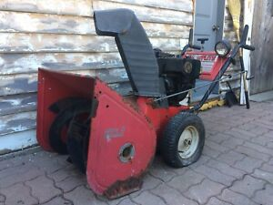 Toro Snowflite 8HP snowblower