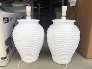 Large lamp bases