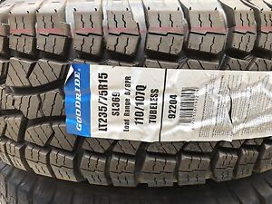 """Sunraysia 15"""" rims with Goodride A/T Tyres New Moggill Brisbane North West Preview"""