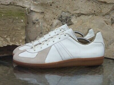 Vintage 1980s German Army Trainers UK 9 275 Manufactured By Adidas GATs BW SPORT