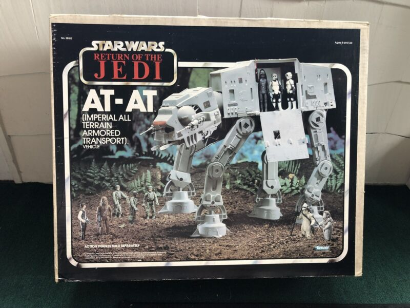 Vintage 1983 Kenner Star Wars ROTJ AT-AT MISB