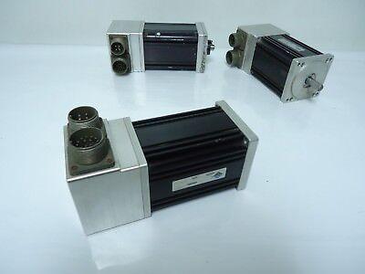 Lot Of 3 Aerotech Bm250 Series Brushless Rotary Servo Motor Bm250-ms-e1000h