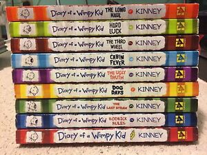 Diary of a Wimpy Kid Series (books 1-9)