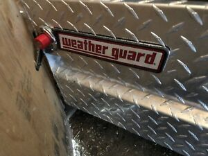 Weather guard truck tool box