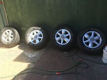245/70R 16 tyres and mags Armadale Armadale Area Preview