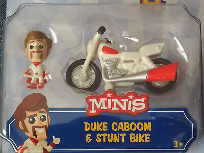 Disney Pixar Toy Story 4 Minis Duke Caboom And Stunt Bike. New In Package