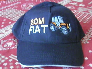 CASQUETTE-TRACTEUR-SOMECA-FIAT-broderie-et-creation-exclusive