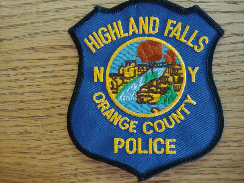 Highland Falls,NY police patch Orange County,NY
