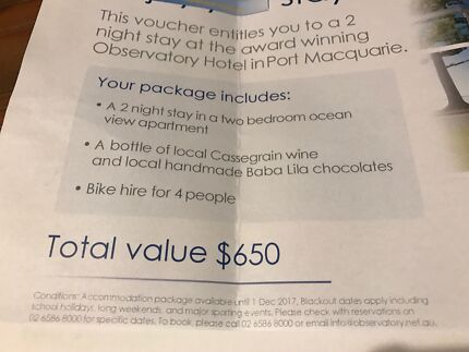 The Observatory Hotel in Port Macquarie