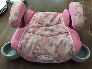 Graco girl's booster seat