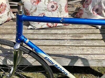 MERCKX . Eddie Merckx Older Style tube de selle détail Prises de 1982 Frame