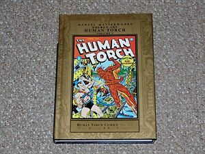 Marvel-Masterworks-88-Golden-Age-Human-Torch-Volume-2-HC-DJ-Graphic-Novel