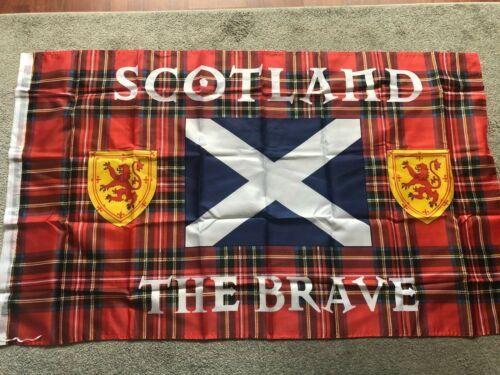 Brand new Scotland the brave   flag   2 x 3ft Ap that