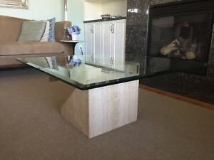Artedi Travertine Coffee Table