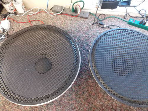 "JBL 2245H 18"" woofers(pair) Theatre quality very rare.With grill covers"