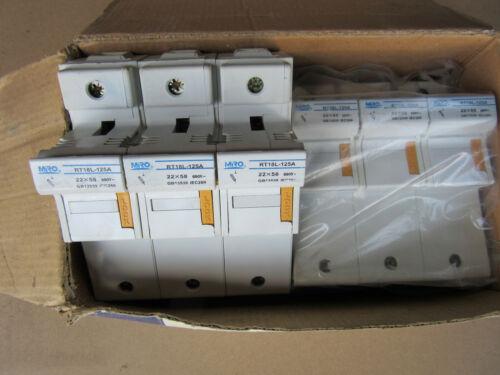 (2) MRO RT18L-125A Fuse Blocks 3P 125A 690V or Less NEW!!! in Box Free Shipping