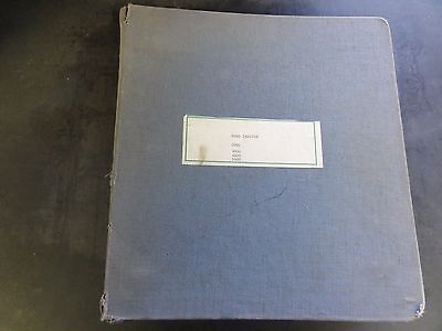Ford 2000 3000 4000 5000 7000 Tractor Parts And Accessories Catalog 1965