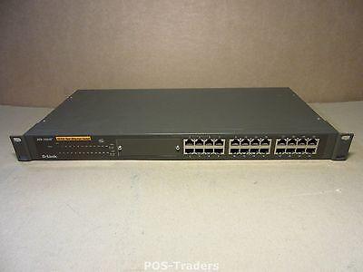 D-Link DES-1024R+ DES 1024R Plus 24X Anschlüsse 10/100 PORTS NETWORK SWITCH