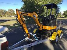 2016 JCB 8018CTS 1.8T Excavator Paget Mackay City Preview