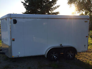 2013 H and H enclosed trailer 7x14