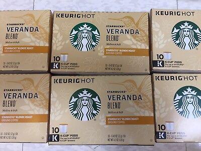 Starbucks Blonde Veranda Blend Coffee,  Keurig K-Cups 60 Ct