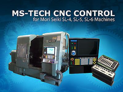 Cnc Retrofit Package Mori Seiki Sl-4 Sl-5 Sl-6 Series Machines