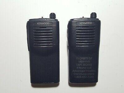 2x Kenwood Tk-3100 2w 2ch Uhf 460-470mhz Radios Wfree Programming Gmrs Police