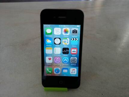 iPhone 4S 16GB Black Unlocked: sold with no charge cable
