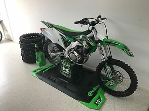 KX 250F 2017 Model Thornlands Redland Area Preview