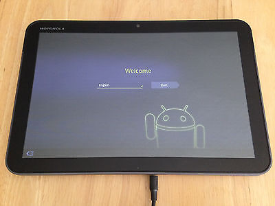 Motorola Xoom 32Gb Wi Fi Black 10 1  Tablet 10Hr Battery Flawless 4 1 2 Free Shi