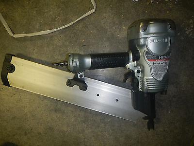 Hitachi Framing nailer nail gun round head nr90aepr nail gun 20-22° 1 yr wrnty C