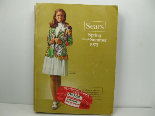 1973 Sears Spring and Summer Catalog 1093 Pages Fashion Electronics Decor