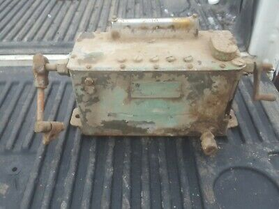 Manzel Lubricator Engine Oiler 5 Feed Antique Tractor Hit Miss Engine