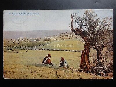 Religious: CANA OF GALILEE c1912 Old Postcard Pub by Photochrom Co Ltd