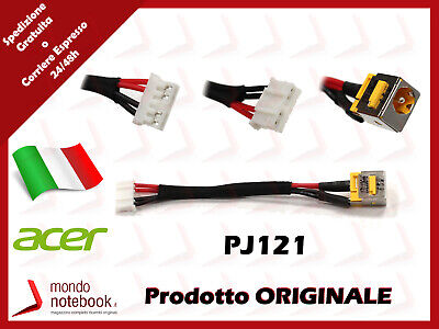 Connettore Alimentazione DC Power Jack PJ121 Acer TravelMate 5720G 5730