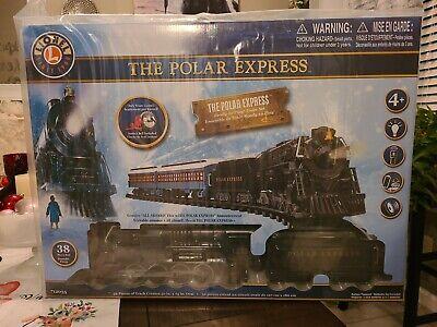 The Polar Express Lionel Train Set 712055 w/ Remote & Sound Christmas Train 38PC
