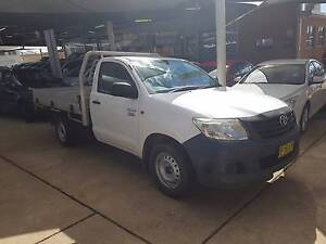 2012 Toyota Hilux Workmate Single Cab Chassis Alloy Tray Manual Armidale Armidale City Preview