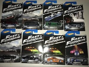 Hot Wheels Fast and the Furious First wave 1/64