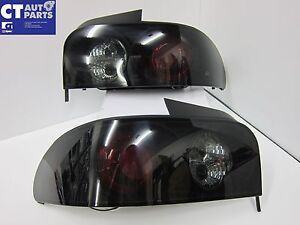 Smoked Tint Altezza Tail Lights for 92-00 SUBARU Impreza Sedan GC8 RX WRX STi