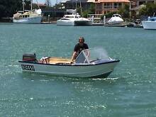 13ft Tinnie with 20HP Mariner motor Cleveland Redland Area Preview