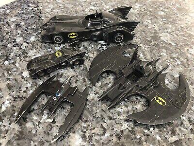 ERTL Batman Rare Batwing 1989 DC Comics VTG Diecast & More Lot *Fast Shipping*
