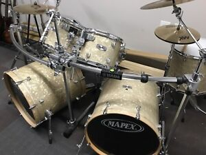 Full Mapex Drum Kit With Sabian Cymbals