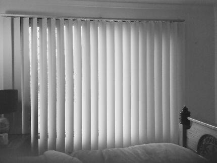 Luxaflex vertical drapes