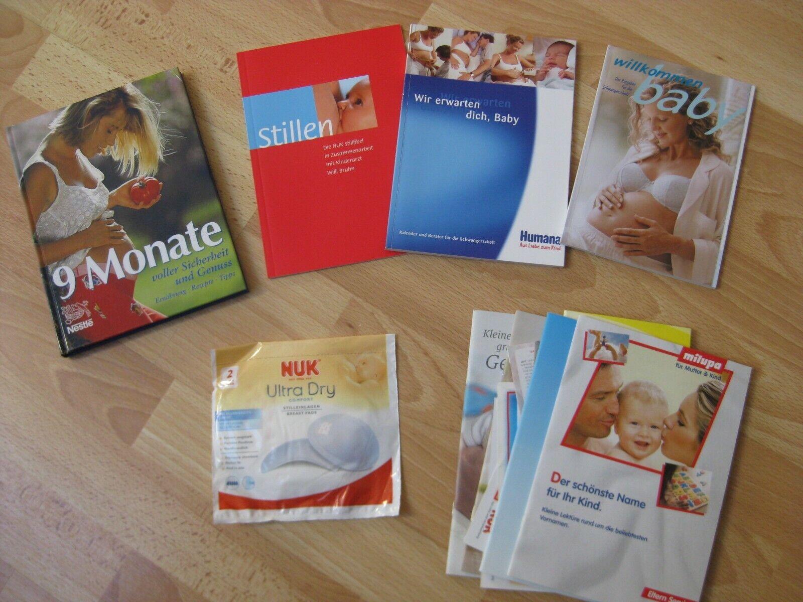 Buch 9 Monate Schwangerschaft Baby Geburt Ratgeber Stillen Ernährung Vornamen