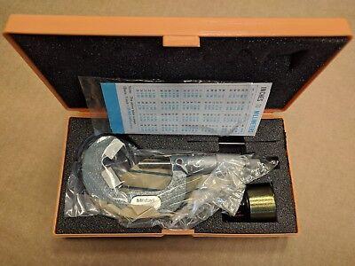 Mitutoyo 114-129 1 - 1.8 .001 5 Flute V Anvil Micrometer