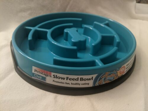 Petstages Slow Feed Bowl New