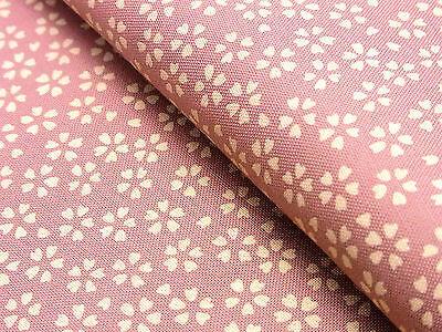 Pink Japanese Fabric - Japanese Fabric_Cotton_Pink,Sakura_Half Yard,#m007