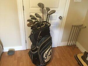 Callaway Left hand Golf clubs