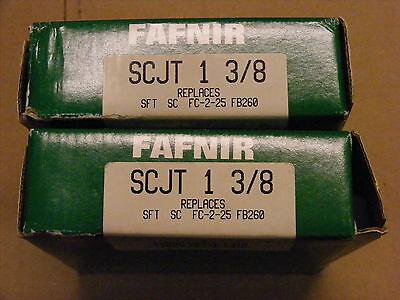 Fafnir Bearings-new-lot Of 2 Pcs.- Part Scjt 1 38